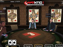 Gamentio - Online Social Casino 3D Game Project
