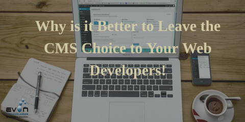 Why it is Better to Leave the CMS Choice to Your Web Developers!