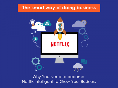 Be Netflix Intelligent to Grow your Business. Stop Shooting in the Dark!