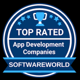 Top rated app development companies by Software World