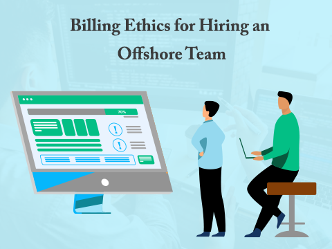 How do you bill an offshore team?