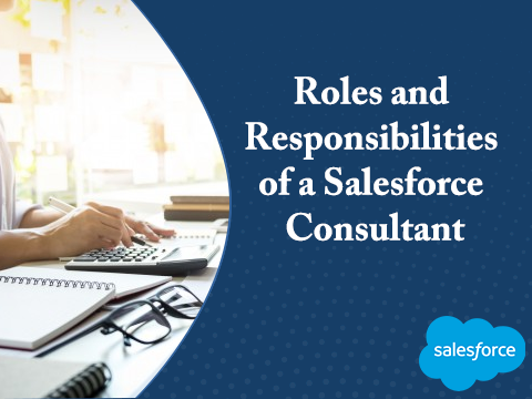 What are the roles and responsibilities of a Salesforce Consultant in an organisation